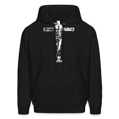 Sweat (Hoodie) Crucified punk & skin