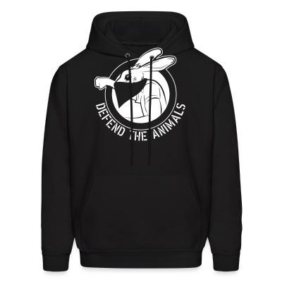 Sweat (Hoodie) Defend the animals