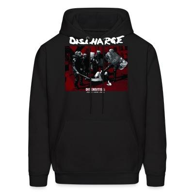 Sweat (Hoodie) Discharge - disensitise: (vb) deny - remove - destroy