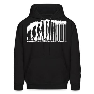 Sweat (Hoodie) Evolution barcode