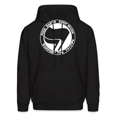 Sweat (Hoodie) Fuck Daesh, fuck sexism. Support the YPJ/YPG