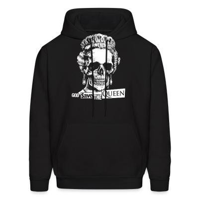 Sweat (Hoodie) God save the Queen