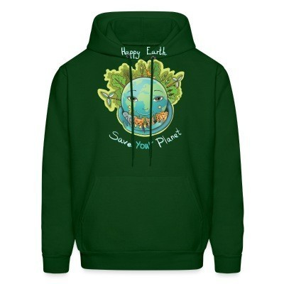 Sweat (Hoodie) Happy earth save your planet