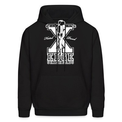 Sweat (Hoodie) Hated & proud - straight edge skinheads