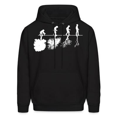 Sweat (Hoodie) Human evolution and the destruction of the environment