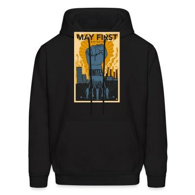 Sweat (Hoodie) May first unite! the mighty nintey nine