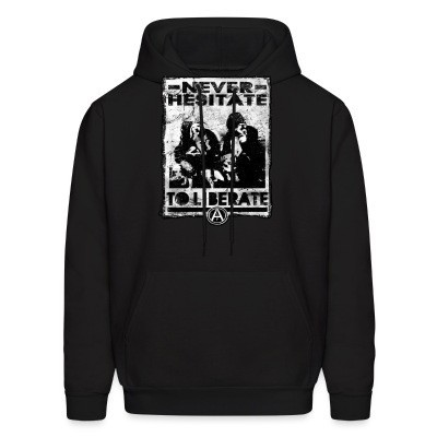 Sweat (Hoodie) Never hesitate to liberate