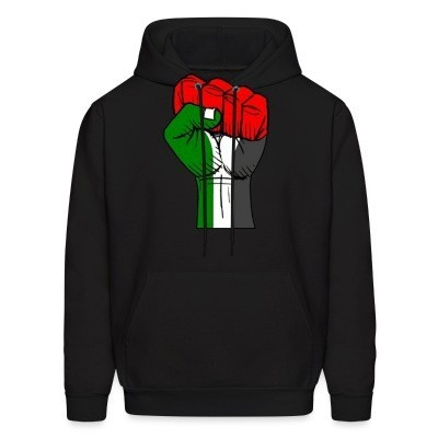 Sweat (Hoodie) Palestine Raised Fist