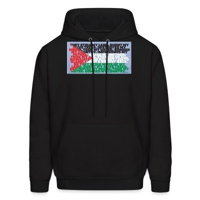 Sweat (Hoodie) Palestine - They stole my land