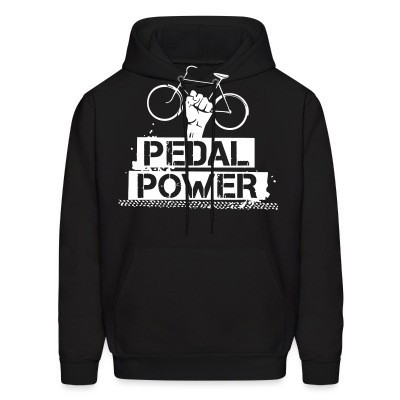 Sweat (Hoodie) Pedal power