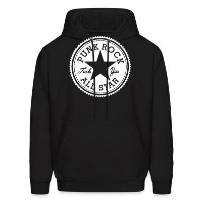 Sweat (Hoodie) Punk Rock All Star