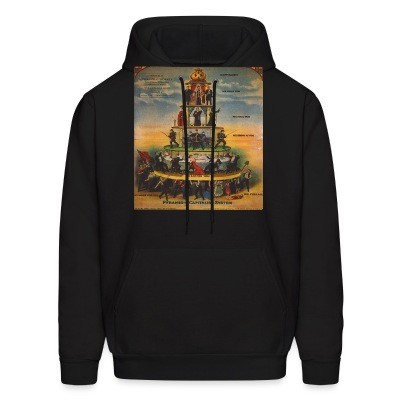 Sweat (Hoodie) Pyramid of capitalist system