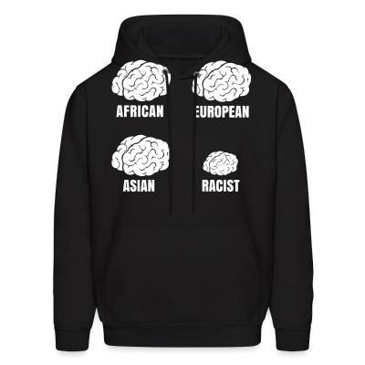 Sweat (Hoodie) Racist small brain