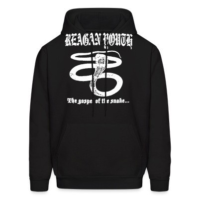 Sweat (Hoodie) Reagan Youth - The gospel of the snake