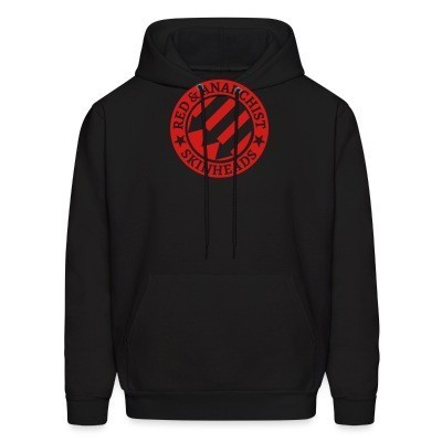 Sweat (Hoodie) Red & anarchist skinheads