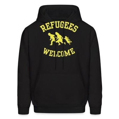 Sweat (Hoodie) Refugees welcome