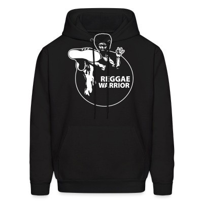 Sweat (Hoodie) Reggae warrior