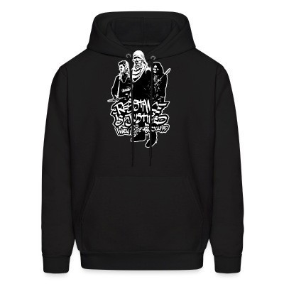 Sweat (Hoodie) Resistance is justified when people are occupied