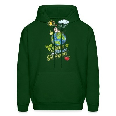 Sweat (Hoodie) Save the planet go vegan