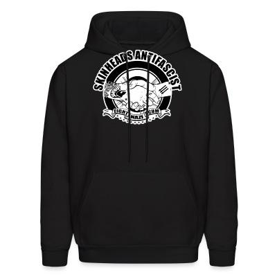 Sweat (Hoodie) Skinheads antifascist - fight nazi scum
