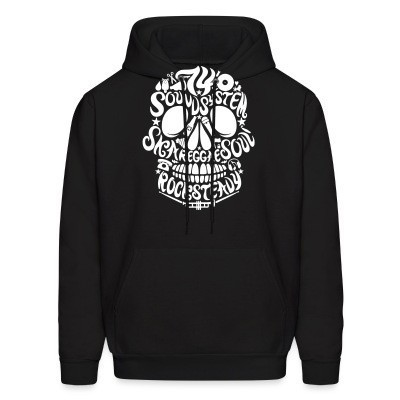 Sweat (Hoodie) Sound system ska reggae soul rocksteady