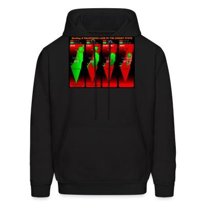 Sweat (Hoodie) Stealing of Palestinian land by the zionist state