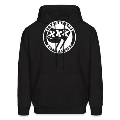 Sweat (Hoodie) Straight edge anti-fascist