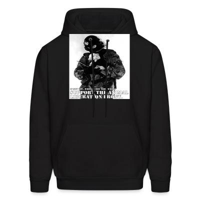 Sweat (Hoodie) Support the animal liberation front