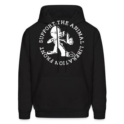 Sweat (Hoodie) Support the Animal Liberation Front (ALF)