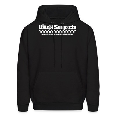 Sweat (Hoodie) The Usual Suspects - anarcho-ska-dub-reggae-punx