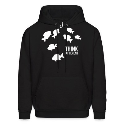 Sweat (Hoodie) Think different