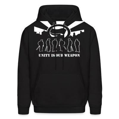 Sweat (Hoodie) Unity is our weapon