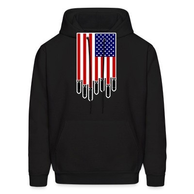 Sweat (Hoodie) USA Bombs Flag