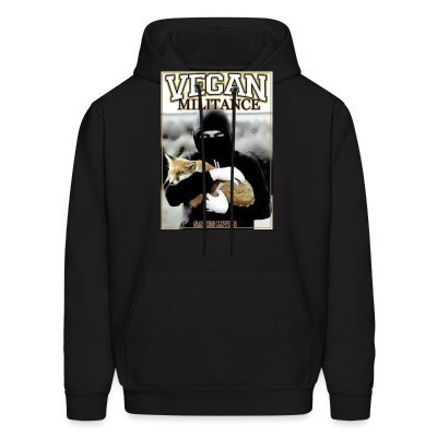 Sweat (Hoodie) Vegan militance saves lives