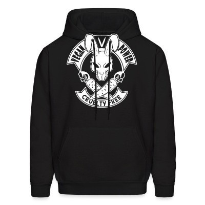 Sweat (Hoodie) Vegan power! Cruelty free