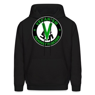 Sweat (Hoodie) Veganism against fascism