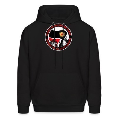 Sweat (Hoodie) Victory to the defense forces - victory to all anti fascists