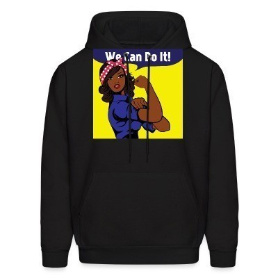 Sweat (Hoodie) We can do it!