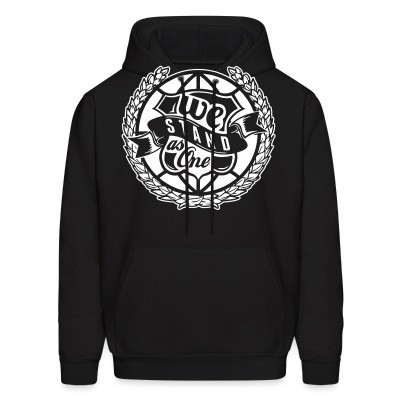 Sweat (Hoodie) We stand as One