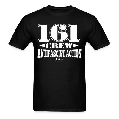 161 crew. Antifascist action