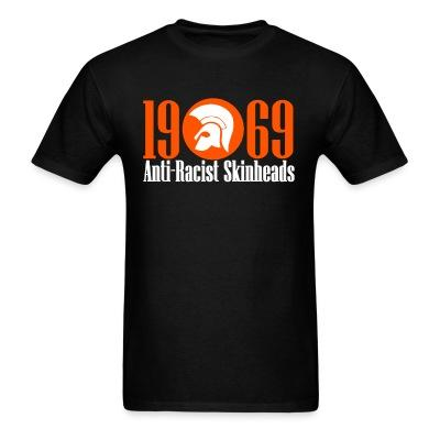 T-shirt 1969 anti-racist skinheads