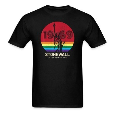 1969 Stonewall - the first pride was a riot