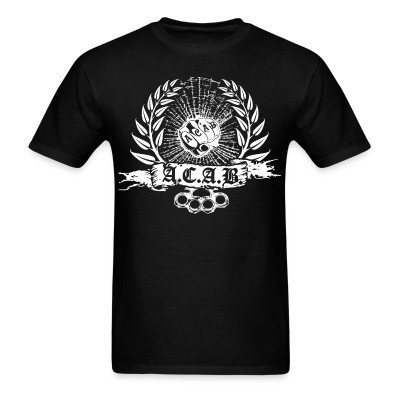 T-shirt A.C.A.B. All Cops Are Bastards
