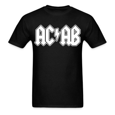 T-shirt ACAB ACDC