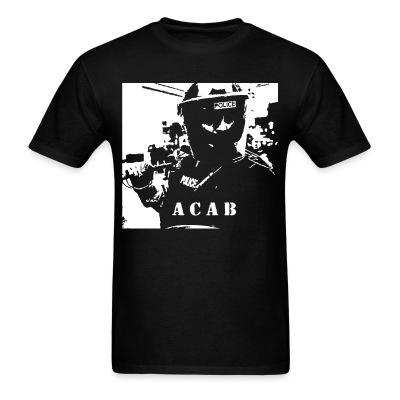 T-shirt ACAB police