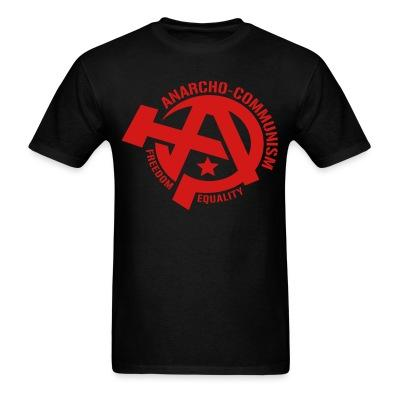 Anarcho-communism. Freedom, equality
