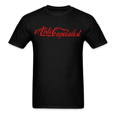 T-shirt Anti capitalist