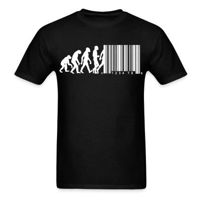 T-shirt Bar code evolution