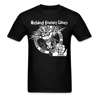 T-shirt Behind Enemy Lines - One nation under the iron fist of god