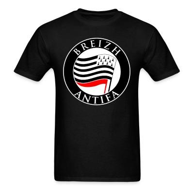 Breizh antifa Antifa - Anti-racist - Anti-nazi - Anti-fascist - RASH - Red And Anarchist Skinheads